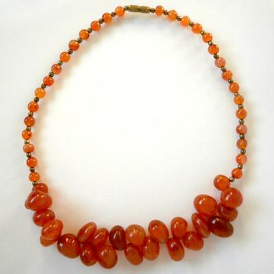 Carnelian Collar + FREE Gift