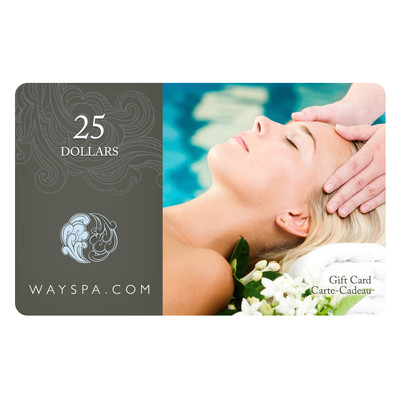 WaySpa Gift Card - $25.00