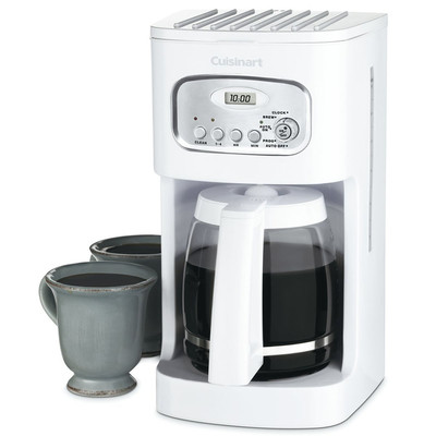 Cuisinart-Refurbished 12-Cup Classic Programmable Coffeemaker, White (DCC-1100), Manufacturer Recertified