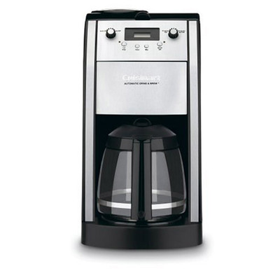 Refurbished-CUISINART DCC490 STAINLESS GRIND&BREW COFFEEMAKER-Manufacturer Recertified with 90 days Warranty