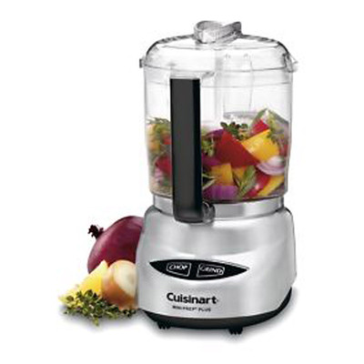 Refurbished-CUISINART CGC4 MINI FOOD PROCESSOR-Manufacturer Recertified with 90 days Warranty