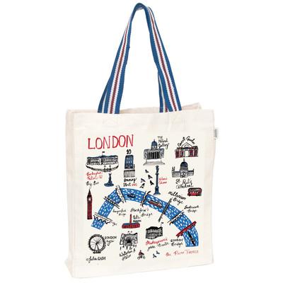 UK design fair trade tote bag - London