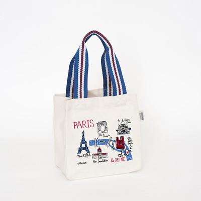 UK design mini tote / lunch bag - Paris