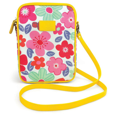 Floral mini iPad / tablet bag