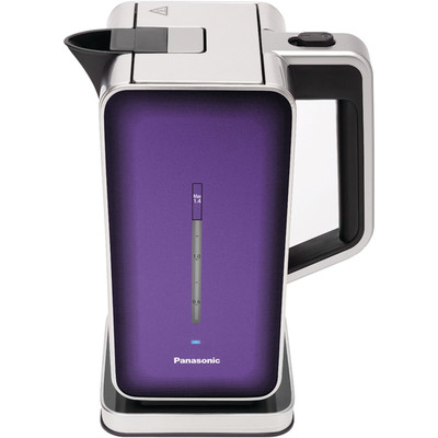 PANASONIC-Refurbished-STAINLESS STEEL KETTLE NC-ZK1V, VIOLET-Manufacturer Recertified with 90 days warranty