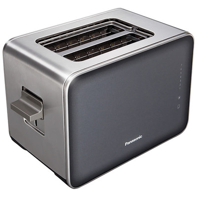 Panasonic-Refurbished-Toaster NT-2P1 H, Smoke-Manufacturer Recertified with 90 days warranty