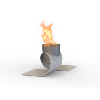 Omega Indoor/Outdoor Fireburner (Chrome Cup)