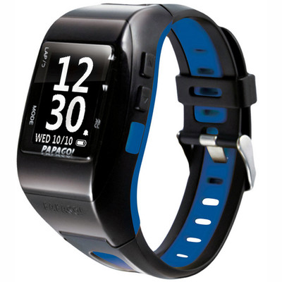 PAPAGO GOWATCH 770BLUE + GOHEART 100 HEART RATE MONITOR COMB