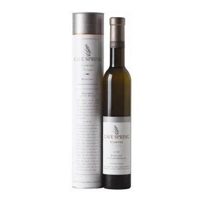 Riesling Icewine VQA with Gift Cylinder, Cave Spring Cellars 2014 - 2 Dessert Wines