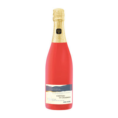 Rose, Methode Traditionnelle VQA, Chateau Des Charmes 2014 - Case of 6 Sparkling Wines