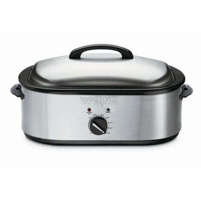Refurbished-Cuisinart 18-Quart Oven Roaster, Brushed Stainless Steel-Manufacturer Recertified with 90 days warranty