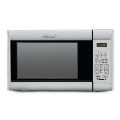 Cuisinart-Refurbished-Die Cast S/S Microwave- Manufacturer Recertified with 90 days warranty (CMW200)