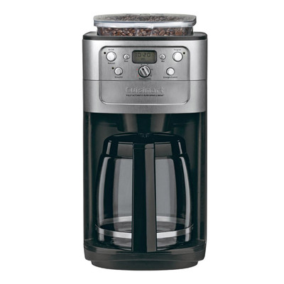 Cuisinart-Refurbished-Brushed Black CHR 12-Cup Coffeemaker-Manufacturer Recertified with 90 days warranty (DGB-700BC)