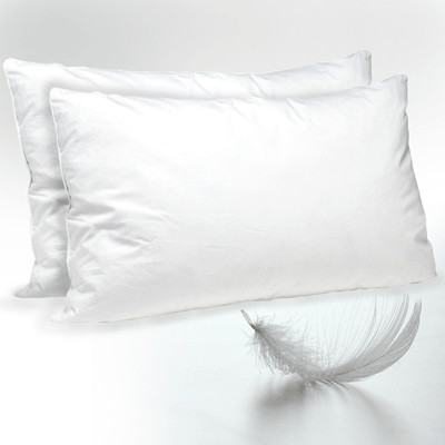 Twin Pack Duck Feather Pillow