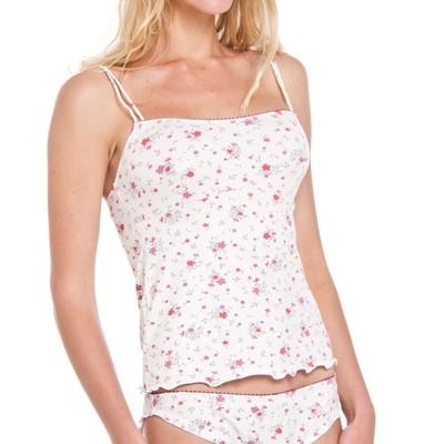 Floral print camisole set