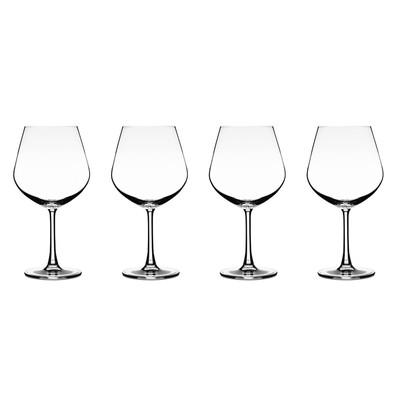 Cuisinart Burgundy Glass, 4-Pack