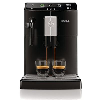 Saeco Pure Automatic Espresso Machine - Matte Black