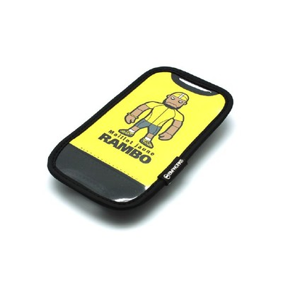 BM WORKS Skin M Smartphone Bike Mount Yellow
