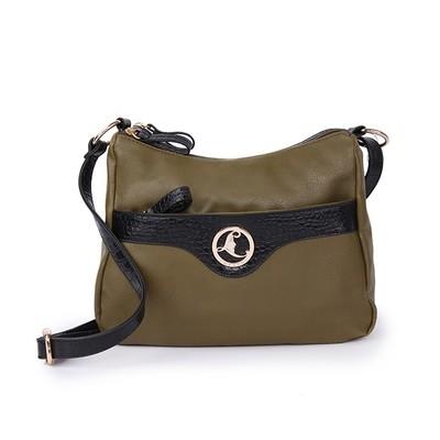 Game Girl Olive Luxanne Side Bag