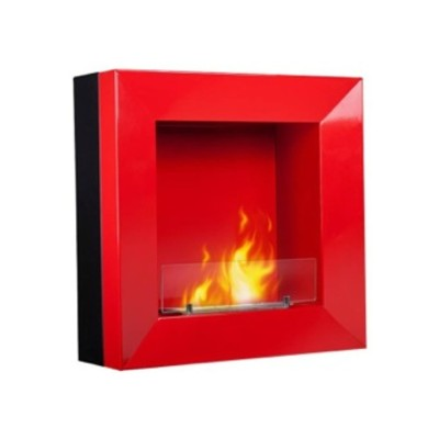 NFLAME Wall Mount Ethanol Fireplace:  Model NF-112W