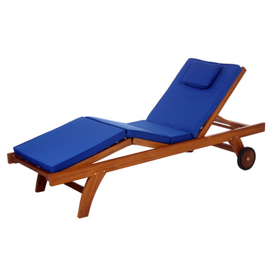 Buy lounges in canada shop ca for Blue mesh chaise lounge