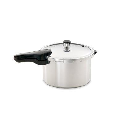 Presto Pressure Cooker 8-quart (7.6L) -  Polished Aluminum