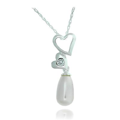 Swarovski Embellished Pearl Pendant.