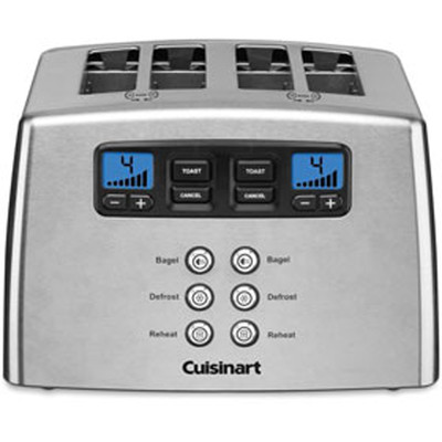 Cuisinart Motorized 4 Slice Toaster, CPT-440C - 1 Year Limited Warranty