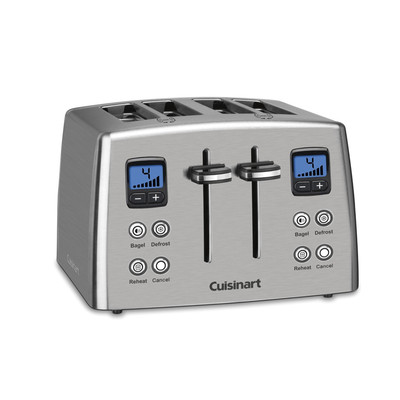 Cuisinart 4-Slice Countdown Metal Toaster (CPT-435C)