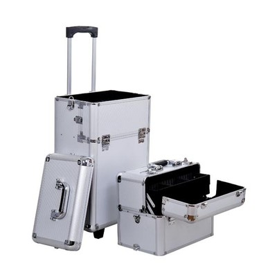 2 in 1 Professional Rolling Makeup Case