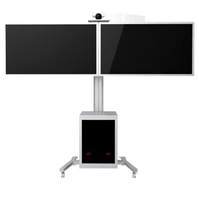 TygerClaw Mobile 2 TVs Stand for 30 to 60 inch TV
