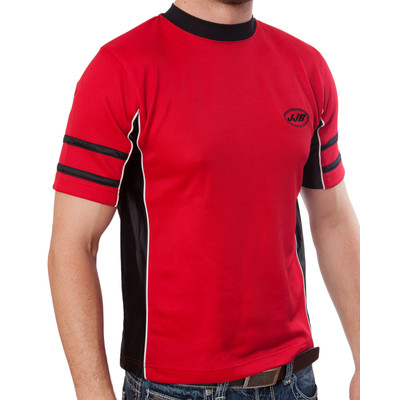 JJB Youth Athletic Wear Jersey - Soccer, Basketball - Red