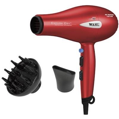 Wahl Endura Dry Hair Dryer 1875 Watts - Red
