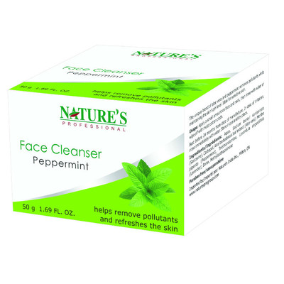 Nature's Professional Face Cleanser Peppermint (100g)