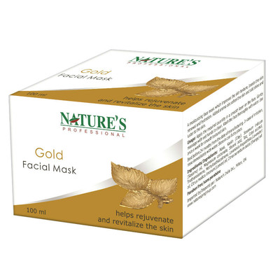 Nature's Professional Gold Facial Mask