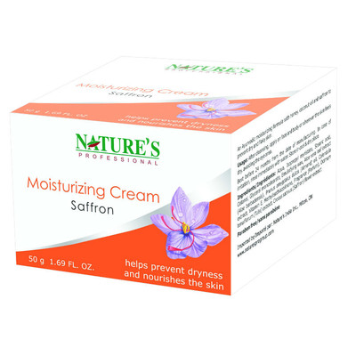 Nature's Professional Saffron Moisturizing Cream (100g)