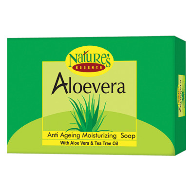 Nature's Aloe Vera Soap - Set of 4