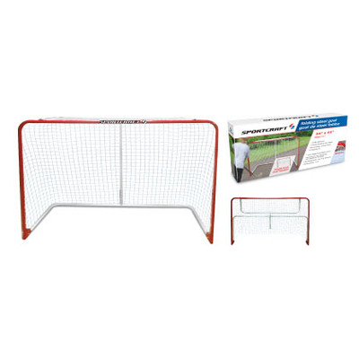 "Sportcraft  54"" Folding Steel Hockey Goal"