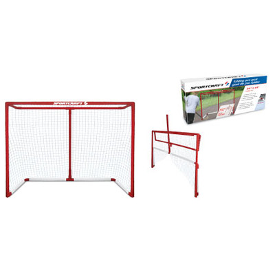 "Sportcraft  54"" Folding PVC Hockey Goal"