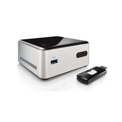 Intel DN2820 NUC,  2.4 GHz Intel Dual-Core Celeron N2820 Processor, No RAM or HDD, DN2820FYKH - 1 Year Limited Warranty