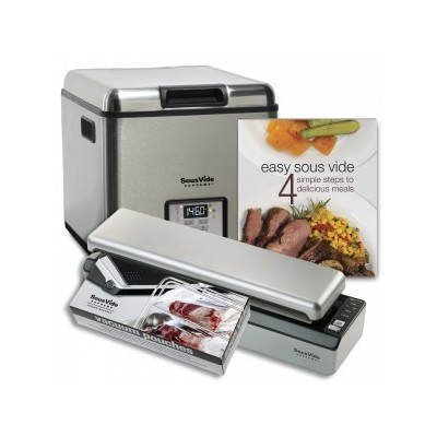 Sous Vide Promo Pack - Stainless steel