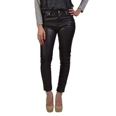 Buffalo Jeans ISIS HIGHRISE SKINNY IN VEGAN LEATHER