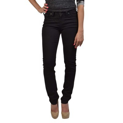 Silver Jeans SUKI HIGHRISE SKINNY IN BLACK