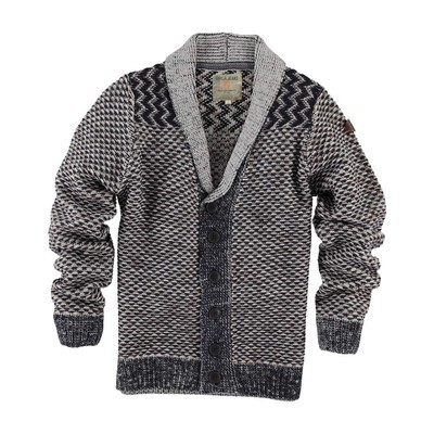 Garcia  PATTERNED BUTTON UP CARDIGAN