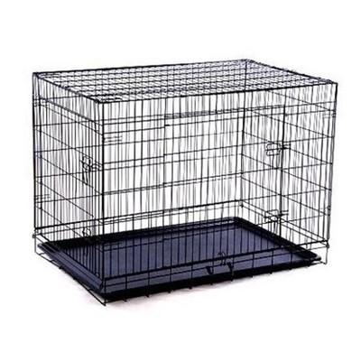 """36"""" 2-Door Dog Crate"""