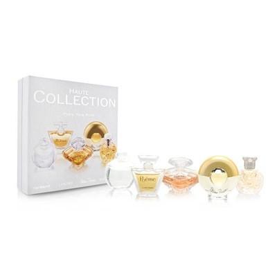 Haute Collection 5Pc Set Noa 7ml Eau De Toilette + Poeme 4ml Eau De Parfum + Tresor 75ml Eau De Parfum + Paloma Picasso 48ml + Safari4 MlEau De Toilette Splash (Travel Set) - By Lancome - 3360372071075