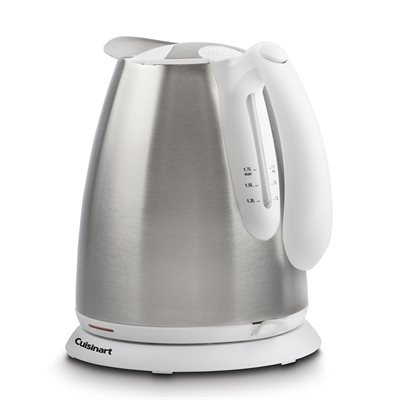 Cuisinart 'Bianca' Cordless Electric Jug Kettle - Stainless & White