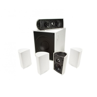 Definitive Technology ProCinema 600 Compact Home Theater speaker package - White (ProCinema 600 Systerm)