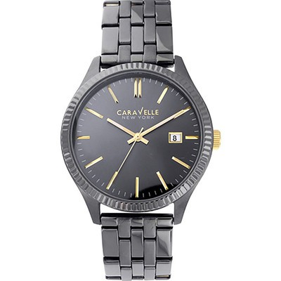Mens Two-tone Dress Bracelet Watch