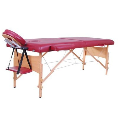"2.5"" Portable Massage Table - Brick Red"